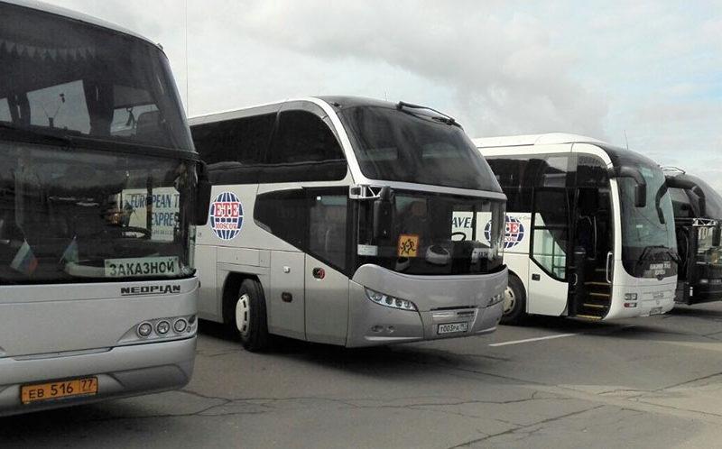 Автобус напрокат в Москве
